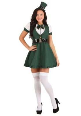St. Patrick's Day Sexy Leprechaun Costume for Adults