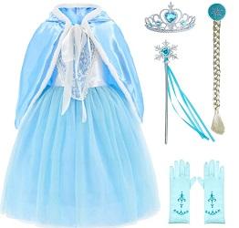 Frozen 2 Queen Elsa Costume for Kids