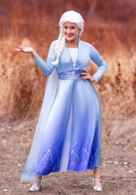 Kristen Bell Frozen 2 Elsa Costume for Adults