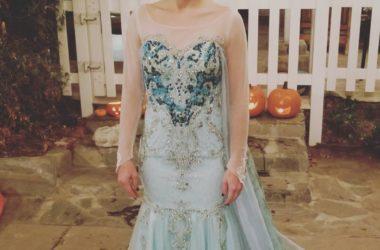 Kristen Bell Frozen Elsa Costume