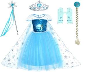 Kristen Bell Frozen 2 Elsa Costume for Kids