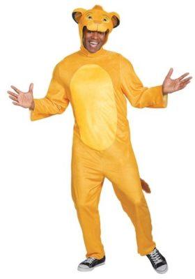 Disney Lion King Costume for Adults - Simba