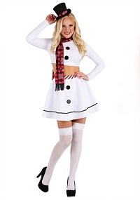 Sexy Christmas Costume Ideas for Adults - Snowman