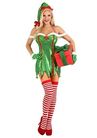 Sexy Christmas Costume Ideas for Adults - Elf